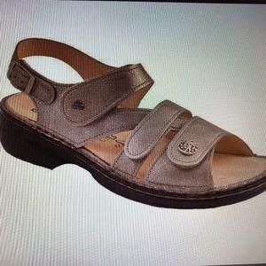 Finn Comfort Gomera Fango Leather Soft Footbed
